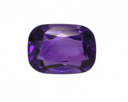 1.32cts Natural Purple Amethyst Cushion Shape