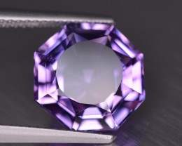 No Reserve 4.70 Crts Custom cut Amethyst from Brazil