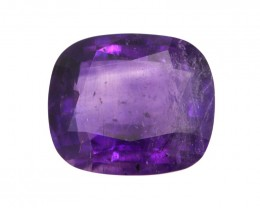 6.92cts Natural Purple Amethyst Cushion Shape