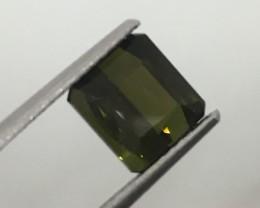 1.98 Carat VVS Tourmaline Green - Excellent Quality !