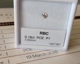 0.18ct PCE P1 Certified Argyle Pink Diamond