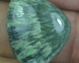 15.40 Ct Seraphinite Natural Untreated Cabochon x45-64