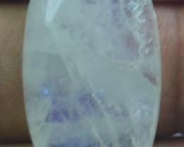30.15 Rainbow Moonstone Cabochon Natural Stone x30-103