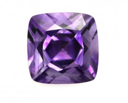 7.00cts Natural Purple Amethyst Cushion Shape