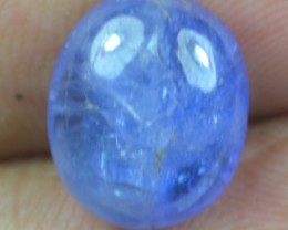 6.30 Ct Tanzanite Cabochon (Natural+Untreated) X39-73