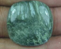 30.45 Ct Seraphinite Natural Untreated Cabochon x45-74