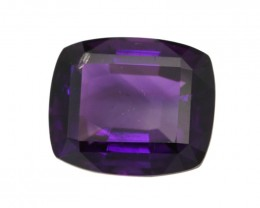 5.88cts Natural Purple Amethyst Cushion Shape
