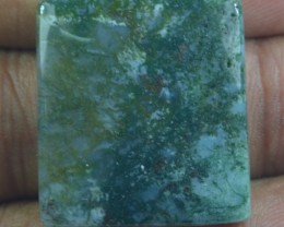 36.75 CT BEAUTIFUL MOSS AGATE (NATURAL+UNTREATED) X25-86