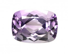 6.81cts Natural Purple Amethyst Cushion Shape