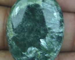 34.50 Ct Seraphinite Natural Untreated Cabochon x45-72