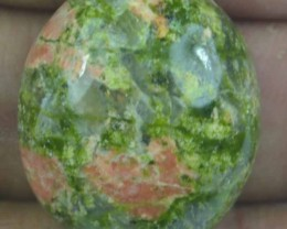 35.35 CT UNAKITE BEAUTIFUL CABOCHON (NATURAL+UNTREATED) X18-180