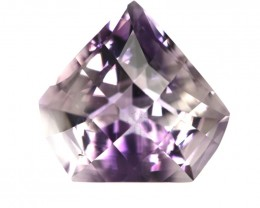 12.06cts Natural Purple Amethyst Checker Board Diamond Profile Shape