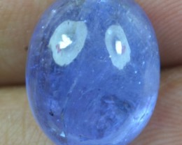 12.65 Ct Tanzanite Cabochon (Natural+Untreated) X39-79