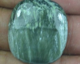 31.10 Ct Seraphinite Natural Untreated Cabochon x45-76