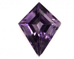 3.03cts Natural Purple Amethyst Kite Shape