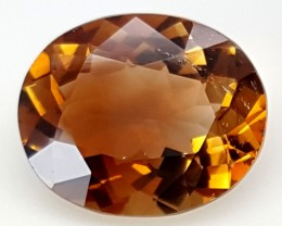11 Crt Natural Topaz Top Color Gemstone JITP01