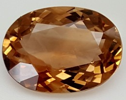 Crt Natural Topaz Top Color Gemstone JITP04