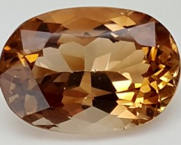 14 Crt Natural Topaz Top Color Gemstone JITP05