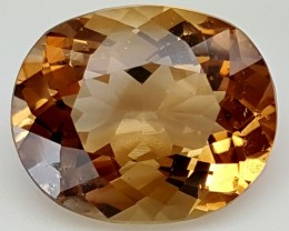 12.45 Crt Natural Topaz Top Color Gemstone JITP06