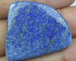 61.60 CT LAPIS LAZULI BEAUTIFUL Cabochon (NATURAL+UNTREATED) x14-78