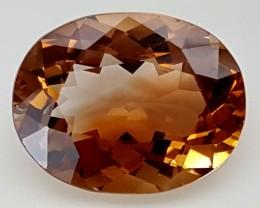 11.35 Crt Natural Topaz Top Color Gemstone JITP07