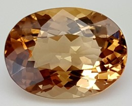 14.9 Crt Natural Topaz Top Color Gemstone JITP11