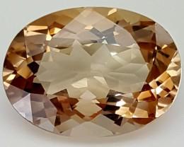 12.90 Crt Natural Topaz Top Color Gemstone JITP12