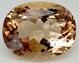 13.8 Crt Natural Topaz Top Color Gemstone JITP15