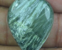 24.75 Ct Seraphinite Natural Untreated Cabochon x45-77