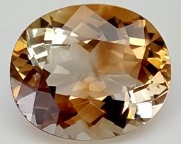 16 Crt Natural Topaz Top Color Gemstone JITP17