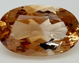 12.55 Crt Natural Topaz Top Color Gemstone JITP18