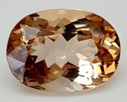12 Crt Natural Topaz Top Color Gemstone JITP19
