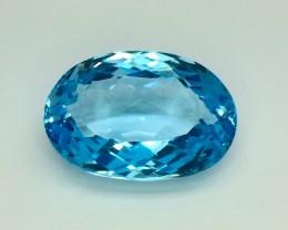 16.87 Crt  Natural Topaz Faceted Gemstone (TP 32)