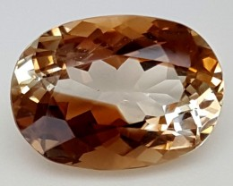 10.60 Crt Natural Topaz Top Color Gemstone JITP24