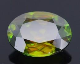 AAA Green Color 1.48 ct Chrome Sphene Skardu Pakistan SKU.18