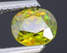 AAA Green Color 1.11 ct Chrome Sphene Skardu Pakistan SKU.18