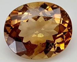 10.30 Crt Natural Topaz Top Color Gemstone JITP28