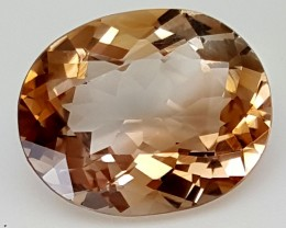 11 Crt Natural Topaz Top Color Gemstone JITP33