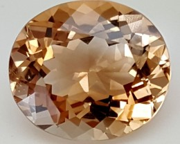 13.30 Crt Natural Topaz Top Color Gemstone JITP34