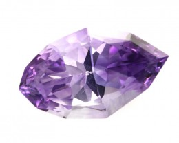 19.39cts Natural Purple Amethyst Modified Marquise Shape