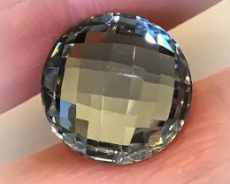 6.45ct Shimmering  Cut Green Amethyst  (Prasiolite) - NO RESERVE AUCTION