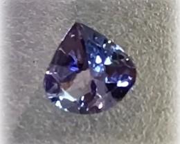 Sparkling Tanzanite Pear Cut Gem - beautiful stone No reserve