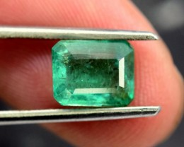 1.90 cts Deep Color Beautifull Zambian Emerald Gemstone (A)
