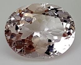 7Crt Morganite  Best Grade Gemstones JI04