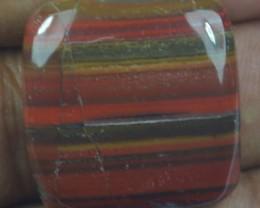 44.45 CT RED IRON JASPER BEAUTIFUL CABOCHON (NATURAL+UNTREATED) X22-121