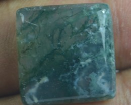 21.80 CT BEAUTIFUL MOSS AGATE (NATURAL+UNTREATED) X25-108