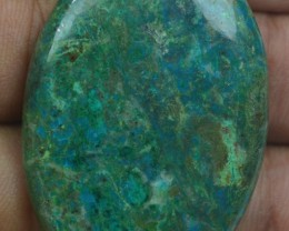 CHRYSOCOLLA STONE 59.70 Ct Natural Cabochon x3-318