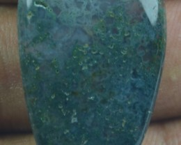 29.40 CT BEAUTIFUL MOSS AGATE (NATURAL+UNTREATED) X25-124