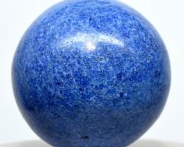 41mm Blue Dumortierite Quartz Crystal Sphere Ball - Peru (STDM-PA326)