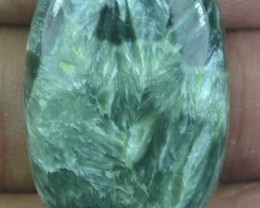 32.10 Ct Seraphinite Natural Untreated Cabochon x45-69